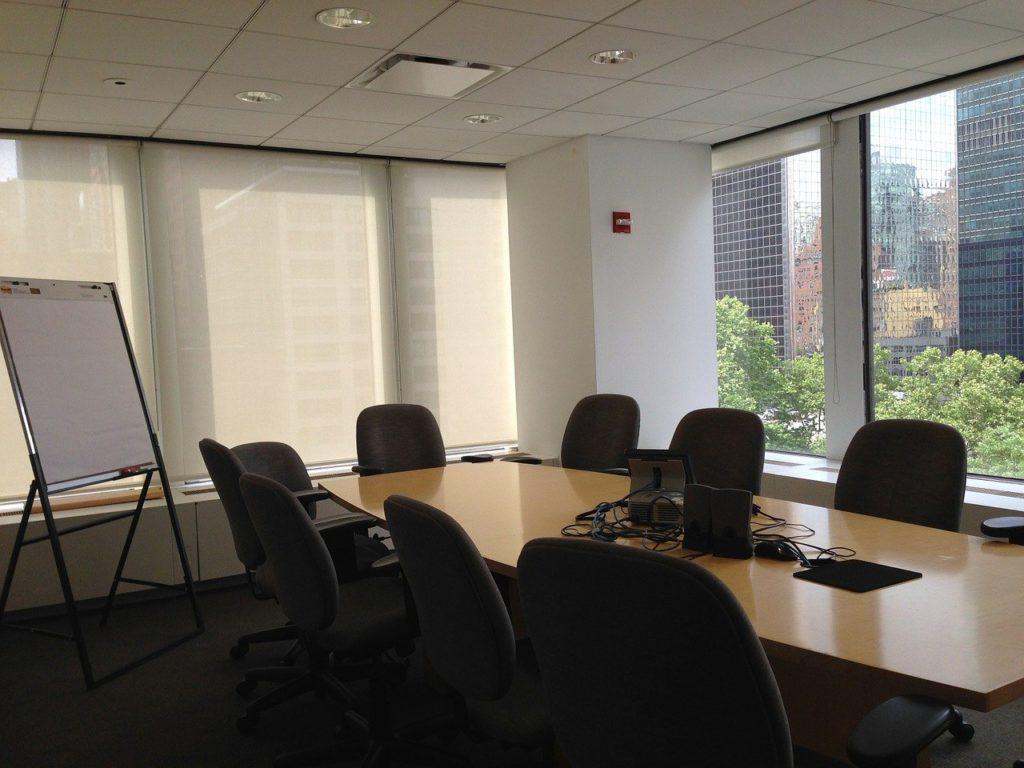 会議室が足りない