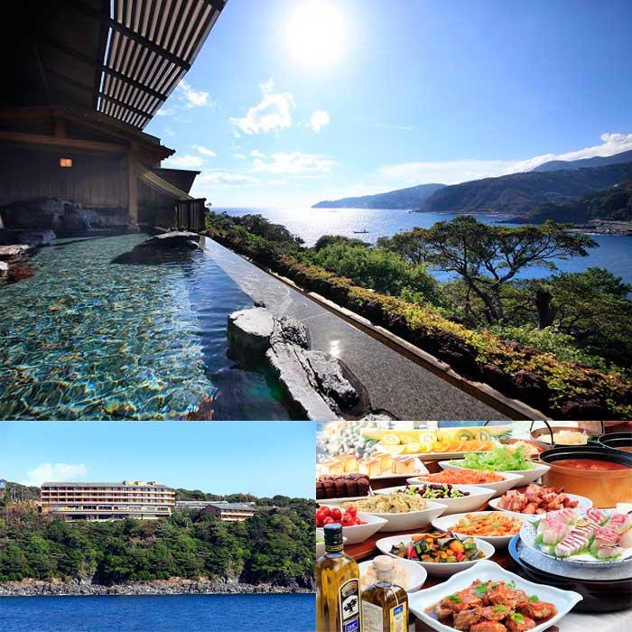静岡県伊東市の赤沢温泉ホテル宿泊ペアチケット(1泊2食付)