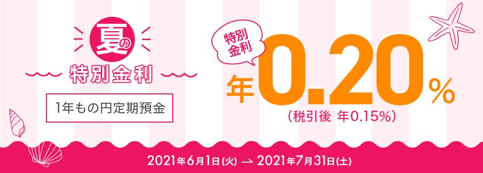 auじぶん銀行 定期預金特別金利0.2%キャンペーン
